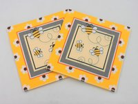 bee napkins - apkin manufacturer RainLoong Bee Paper Napkin Event amp Party Insect Tissue Printed Napkin Supply Decoration Paper cm cm pa