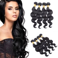 cuticle remy hair - 3 TOP A Virgin brazilian hair bundles Remy Human Hair Extensions body Wave Full cuticle Virgin Hair ali queen hair products