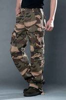 air combat - Air Force Army Camouflage Pants Mens Casual Outdoor Military Trousers Male Camo Multi Pocket Pants Combat Army Camouflage Pants