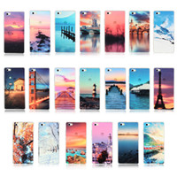 beautiful ocean scenery - Beautiful Scenery Iphone Case Transparent Painting Soft TPU Cases Meteor Mountain City Ocean Back Skin Cover for iphone S Plus S SE