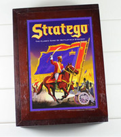 big chess board - Famous board game boutique box the western army chess stratego lu in English