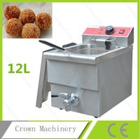 Wholesale 12 Liter V Commercial Deep Fryer French fries fryer Chicken ect Fryer Potato chips Deep Fry Machine