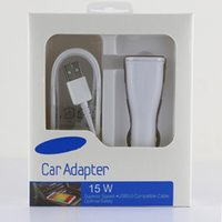 apple retail uk - For Samsung Galaxy S6 S6 S7 Edge Note Note Edge SM N910 Adaptive Fast Charging Rapid Car Charger W With Retail Package