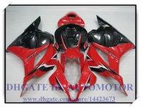 Wholesale GIFT INJECTION HONDA RED WHITE FAIRING KIT CBR600RR CBR600RR F5 CBR600RR CBR600 F5 ABS FAIRINGS C2434