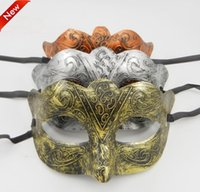 animal mask for kids - Halloween Party Masks Masquerade Knight restoring ancient Mask Mardi Grass Mask Half face Party Masks for adult and kids