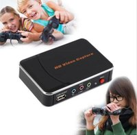 Wholesale USB Video Capture HD P HDMI Game Capture Recorder Box for Xbox PS4 WII U