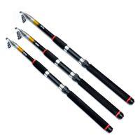 Wholesale Telescopic M Portable Glass Fiber Carp Fishing Rod Ultra Light Spinning Fishing Pole for Outdoor Sports