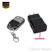 Wholesale Spy P HD Hidden Camera USA Plug Charger Video Recorder Motion Detection Camera