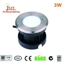 Wholesale 3W LED COB underground light IP68 W COB Diameter mm VAC outdoor lighting aluminum material underground lamp