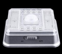 ac deals - Super Deal New Auto PIR LEDs Light Silver Sensor Sensitivity Motion Detector Lamp for Home XT