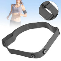 Wholesale Grey Chest Belt Strap Band for Garmin Wahoo Polar Sport Heart Rate Monitor for Bluetooth Bluetooth chest belt IBK