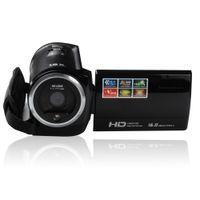 Wholesale 2016 new DV Cam HD Video camera Camcorder HD P MP DVR TFT LCD Screen x ZOOM Digital Camcorder