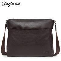 Wholesale High quality genuine leather briefcase men casual buisness laptop handbag man real leather fashion brand shoulder bag