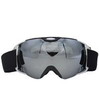 Wholesale Motorcycle Bike Snow Sports Anti fog Double Lens UV Protection Snowboard Ski Goggles Skateboard Skiing Snowmobile Sunglasses Eyewear