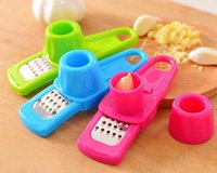 Wholesale Creative Multi Functional Mini Ginger Garlic Grinding Grater Planer Slicer Cutter Cooking Tools Kitchen Utensils Accessories