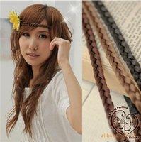Wholesale 2016 Fashion Women Bohemian Hair Band Hair Accessories Forehead Headband Head Chain Rope hair band Fashion rings IN STOCK