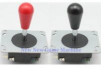 american amusements - 2pcs Pack High Quality Amusement Cabinet Games Machine Parts Accessory Red Black Iron American Arcade Joysticks Stick