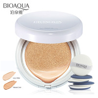 Wholesale BIOAQUA Summer Air Cushion BB Cream Concealer Moisturizing Foundation Makeup Bare Strong Whitening Face Beauty breathe freely Makeup Cream