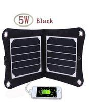 achat en gros de cadre numérique de style-5W 5V portable solaire Chargeur USB Panneau extérieur numérique Style de cadre chargeur solaire pour iPhone Samsung Android 5V Appareil