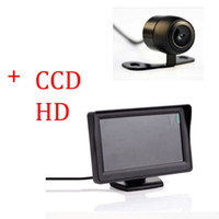 Wholesale Auto Parking Assist System in Butterfly Car Rear View Camera With Monitor Night Vision Car Parking Camera With Monitor For Security