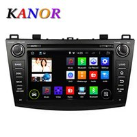 Wholesale 1024 Quad Core Android Car DVD GPS For MAZDA Autoradio Audio Stereo Capacitive Central Multimedia
