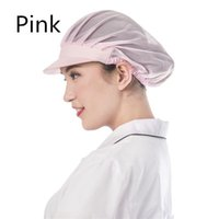 Wholesale Korean style ventilation chef hat food hygiene hat workshop household dust proof hat kitchen tongue work cap