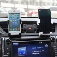 Support de téléphone universel pour Samsung Note 5 4 Car Vent Mount Pour Iphone 6 6s plus 5s GPS Support à Kit