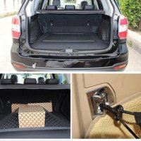 safety net - CAR Mesh Cargo Net Holder Trunk Auto Elastic Storage Hook For Most Cars EA10326