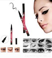 Wholesale YANQINA set YANQINA H Makeup Eyeliner Pencil Waterproof Black Eyeliner Pen No Blooming Precision Liquid Eye liner dhl free