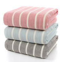 bath bra - 2016 High Quality Factory Cotton Towels Hawaiian Bra Nap Blanket Bath Towel Increased Thickening HY1244