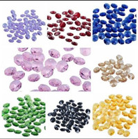 Wholesale 100pcs Sparkly K9 Crystal Faceted mm Octagon AAA Glass Beads Chandelier Parts