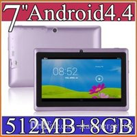 Android 4.4 epad tablet pc - 7 inch GB MB Capacitive Allwinner A33 Quad Core Android dual camera Tablet PC WiFi EPAD Youtube Facebook PB
