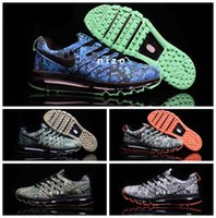 air max plus - 2016 Fingertrap Air Cushion Max NRG Camo Mens Running Shoes High Quality Max Sport Trainer Shoes Maxes Plus Size US