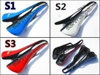 Wholesale Carbon several kinds colors San marco selle saddle fit for Carbon Frame EMS
