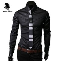 100% cotton shirt fabric - fashion design South Korean imports of foreign trade boutique special fabrics for men s long sleeved shirt Quilted