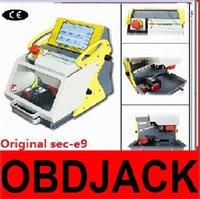 automatic bmw - 2016 Original automatic key cutting machine SEC E9 portable smart duplicate car key cutting machine SEC E9 Multi Language version
