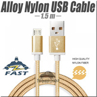 alloy mesh - Micro USB charging cable M FT Alloy Nylon Mesh Data Sync USB Cable