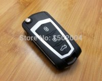 Wholesale Modified Folding Flip Remote Key Shell Button For Hyundai Sonata NF car shell cage