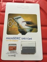 Wholesale New GB GB Class10 UHS MicroSDXC TF SD Card for Digital Camera Smart Phones and Tablet PC with SD Adapter