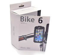 bicycle plastic bag - Heavy Duty Case Bike6 Bicycle Motorcycle Scooter Handlebar Mount Holder Shockproof Case for iPhone6 iPhone6 Plus Waterproof Bag Cover