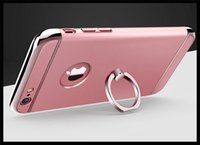 best skin iphone - Shockproof Plastic Hard Skin Ring Stand Holder Case for iPhone in Slim Cover case for iphone best promation