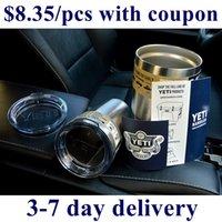 beer orders - Yeti Beer Mug Rambler Tumbler Yeti Mug oz Tumblerful Bilayer Stainless Steel Bottle for order with coupon