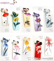 Wholesale 2015 Fashion boutique selling cute cartoon butterfly bookmark Mini butterfly bookmark