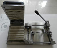 Wholesale eight skewers one time Manual type meat skewer machine making machine skewer meat satay skewer machine