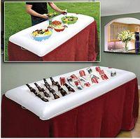 beverage supply - Party Supplies luau inflatable salad bar Deep Portable Buffet Cooler Beverage Cooler Food Drink Storage Holder