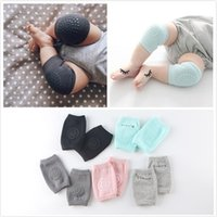 baby essentials socks - Environmental Dispensing Kneepad Baby Sock Half Combed Cotton Terry Baby Crawling Dispensing Essential