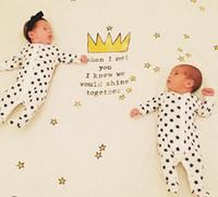 Wholesale Cute Baby Kids Gauze Blanket Double Four Layers Organic Cotton Unisex Nursery Bedding Cartoon Positioning Printing