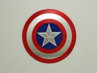 aluminum sheet size - Small Size Car Sticker M Cool Captain America Car Styling Motorcycle Sticker Vinyl Decal Reflective Personalized Waterproof
