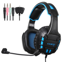 Xbox mic pc Prix-Gros-G10 letton 3.5mm stéréo Gaming Headset casque avec micro pour Playstation4 PS4 Xbox 360 PC portable Mac iPhone Smart Phone Tablet