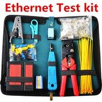 Wholesale NF RJ45 Network Tool Kit Ethernet Cable Tester Crimper Stripper Tool Set